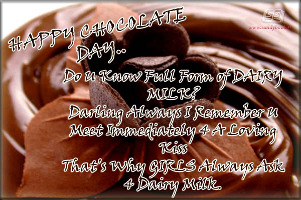 Top 20 chocolate day images for whatsapp and facebook whatsapp do you know full form of dairy milk m4hsunfo