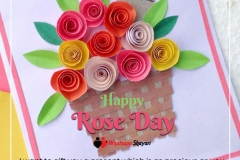 rose day status images