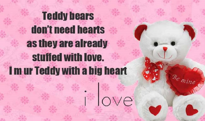 Teddy Bear Day Sms Messages