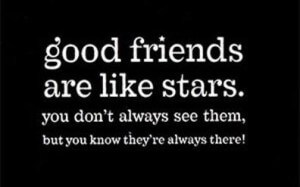 good-friends-are-like-stars-whatsapp-dp-300x187