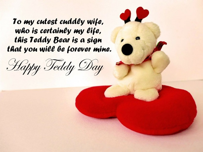 Top 10 Teddy day Wishes for Whatsapp and Facebook